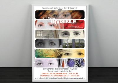 """Spettacolo """"Il canto invisibile"""""""